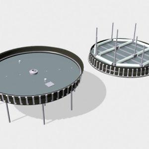 Понтоны для резервуаров