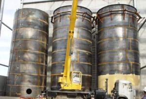 Стальной резервуар PBC 150 мЗ