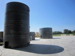 резервуар вертикальный стальной РВС 200 м³