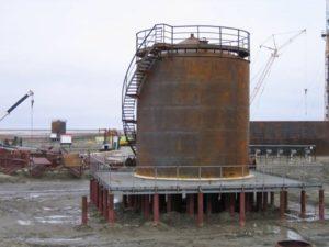 Резервуар вертикальный РВС 300 м3