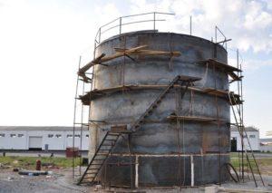 Резервуар вертикальный РВС 400 м3