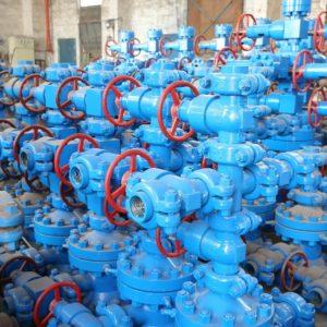Оборудование нефтепромысловое устьевое