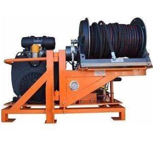 Аппараты для прочистки трубопроводов, каналопромывочные и гидродинамические машины