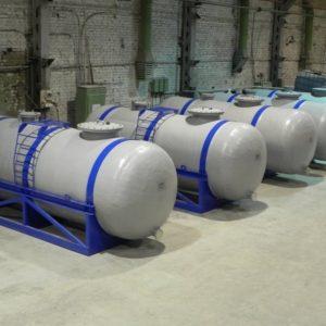 Химстойкие емкости для топлива стеклопластиковые
